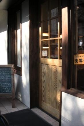 パン屋 玄関ドア
